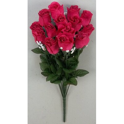 14 Stems of Artificial Blossoms Bush Color: Velvet