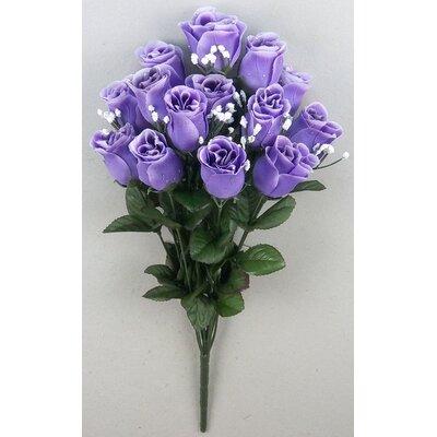 14 Stems of Artificial Blossoms Bush Color: Lavender