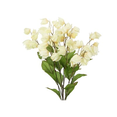8 Stems Artificial Chinese Lantern Bush for Home Office, Wedding, Restaurant and Office Decoration Arrangement Flower Color: Butter
