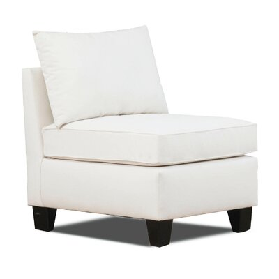 Belle Meade Slipper Chair Color: Light Slate image