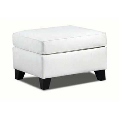 Belle Meade Ottoman Color: Light Slate image