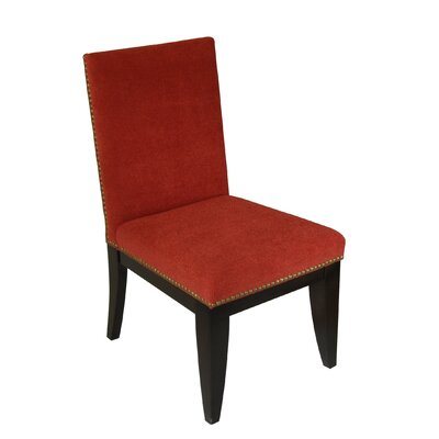 Montgomery Parsons Chair Upholstery: Tomato