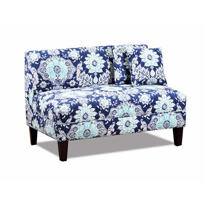 Carolina Accents CA5303-BELHBR Briley Armless Loveseat Upholstery
