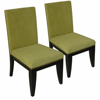 Montgomery Parsons Chair Upholstery: Kiwi