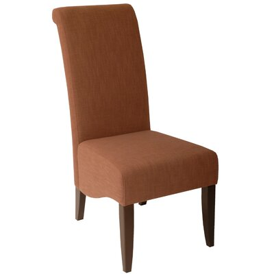 Cameron Parsons Chair Upholstery: Apricot