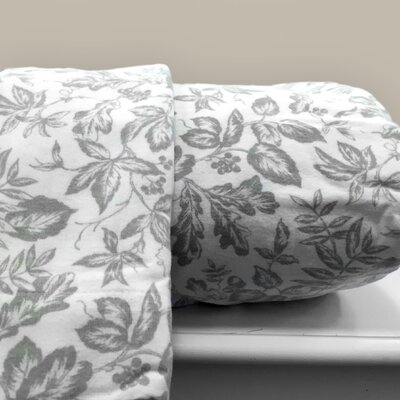 Sage Leaf 100% Cotton Sheet Set Size: Full