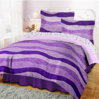 Wavy Stripe Bed-In-A-Bag Set Size: Full