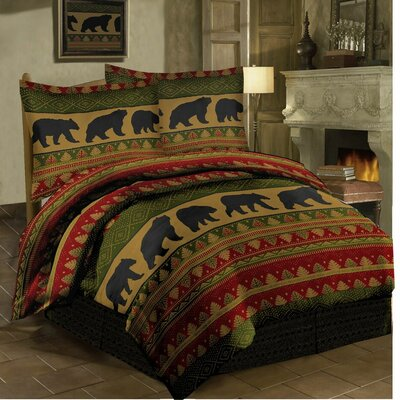 Bear Walk Comforter Set Size: Queen