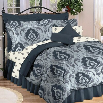 Prado Complete 4 Picec Comforter Set Size: Twin