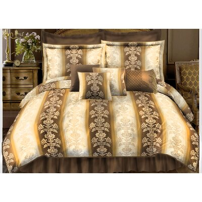 7 Piece Comforter Set Size: Full