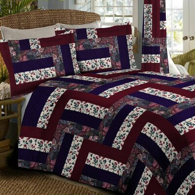Caledonia Oversized Bedspread Size: Twin