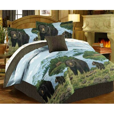 Bear Bed-In-A-Bag Set Size: Twin