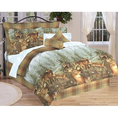 Deer Creek Bed-In-A-Bag Set Size: Queen