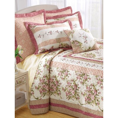 Boudoir Quilted Bedspread Size: Full