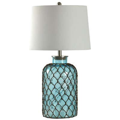 Belvidere Nautical Net 30? Table Lamp Color: Blue