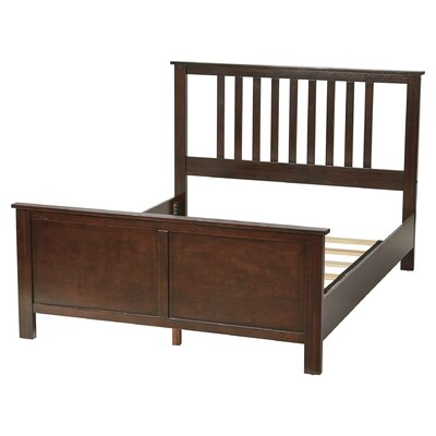Castine Panel Bed Finish: Espresso, Size: Queen