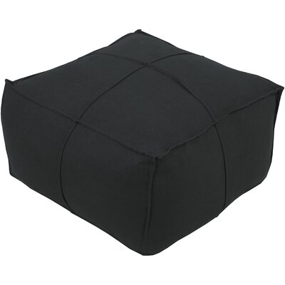 Waterbury Pouf Upholstery: Dark Brown