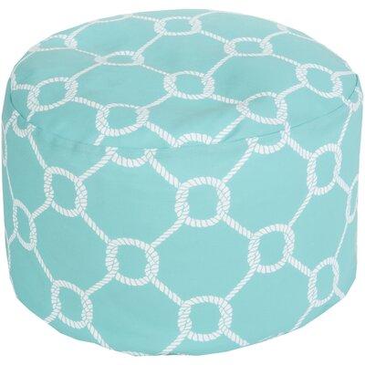 Ann Arbor Pouf Upholstery: Sky Blue