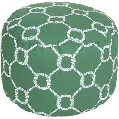 Ann Arbor Pouf Upholstery: Green