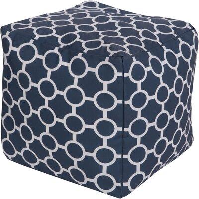 Newry Pouf Upholstery: Navy
