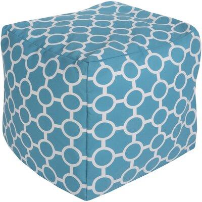 Newry Pouf Upholstery: Aqua