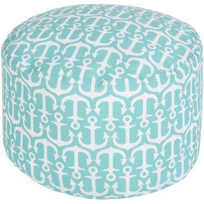 Ann Arbor Pouf Ottoman Upholstery: Sky Blue