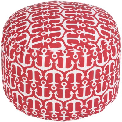 Ann Arbor Pouf Upholstery: Poppy