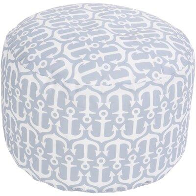 Ann Arbor Pouf Ottoman Upholstery: Light Gray