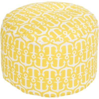 Ann Arbor Pouf Ottoman Upholstery: Sunflower