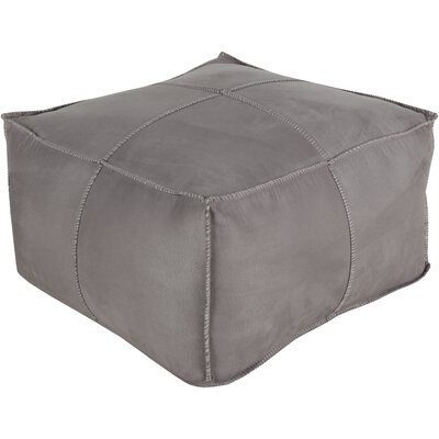 Robertson Cube Pouf Ottoman Color: Taupe