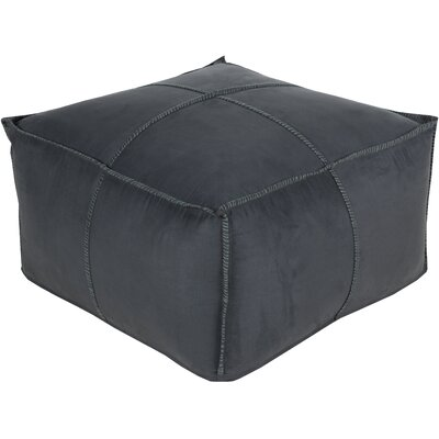 Robertson Pouf Color: Charcoal