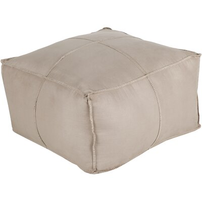 Robertson Pouf Color: Tan
