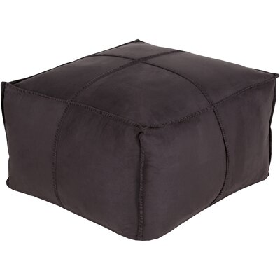 Robertson Pouf Color: Black
