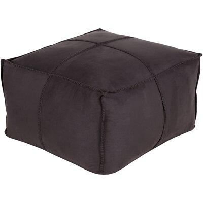 Robertson Cube Pouf Ottoman Color: Black