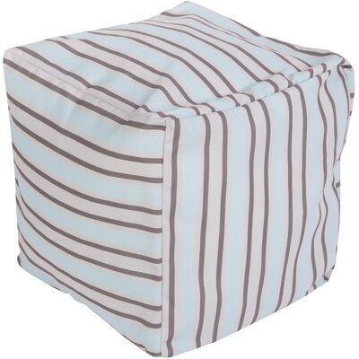 Virginia Beach Pouf Ottoman Upholstery: Sky Blue