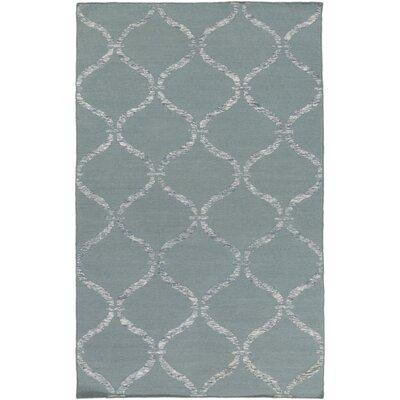 Landing Hand Woven Gray Area Rug Rug Size: 5 x 76
