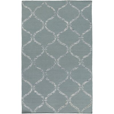 Landing Hand Woven Gray Area Rug Rug Size: 6 x 9