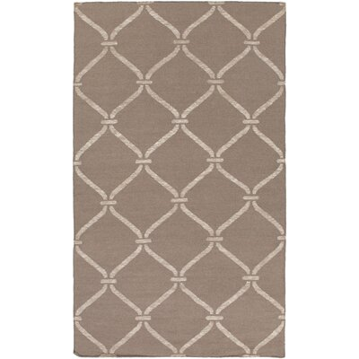 Landing Hand Woven Gray Area Rug Rug Size: Rectangle 4 x 6