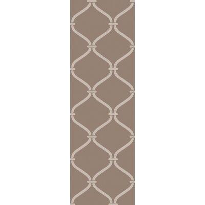 Landing Hand Woven Gray Area Rug Rug Size: Runner 26 x 8