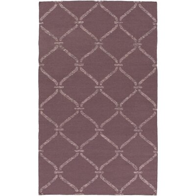 Landing Hand Woven Purple Area Rug Rug Size: Rectangle 6 x 9