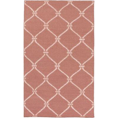 Landing Hand Woven Pink Area Rug Rug Size: 9 x 13
