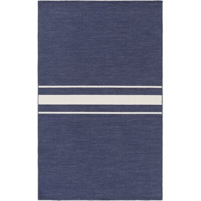 Lansing Hand Woven Blue Area Rug Rug Size: Rectangle 5 x 8