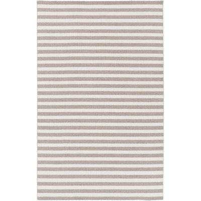 Breakwater Bay Lansing Hand Woven Gray Area Rug