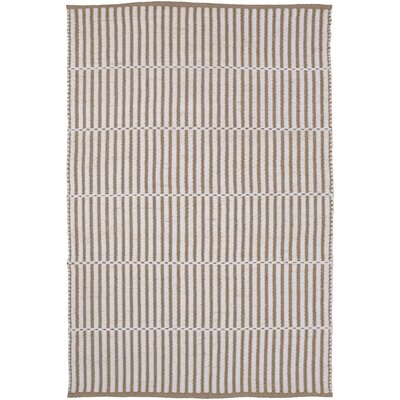 Interlachen Hand Woven Beige/Brown Area Rug Rug Size: 2 x 3