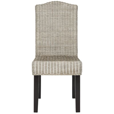 Carrcroft Parsons Chair Upholstery: Antique Gray