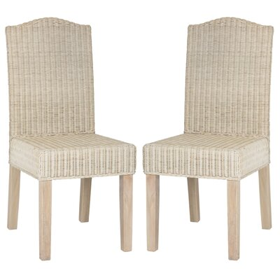 Olympus Solid Wood DIning Chair Color: White Washed