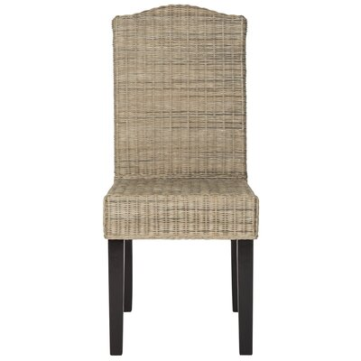 Carrcroft Parsons Chair Upholstery: Gray