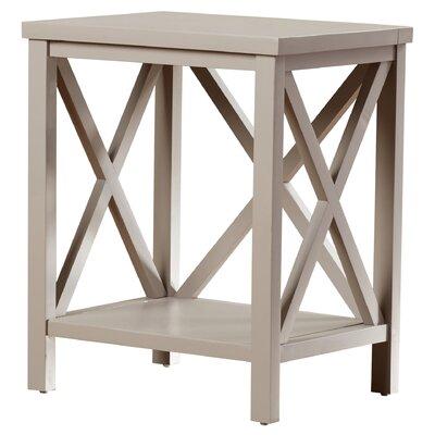 Oldham End Table Color: Quartz Grey