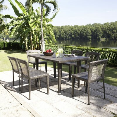 Rockland 7 Piece Outdoor Dining Set