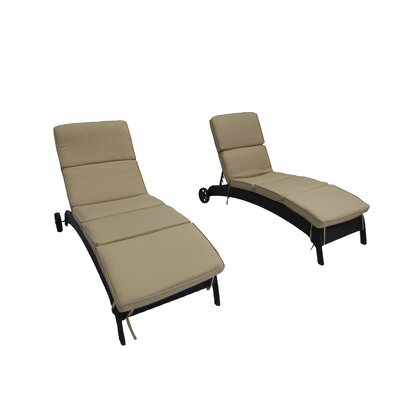 Brookfield Chaise Lounge with Cushion